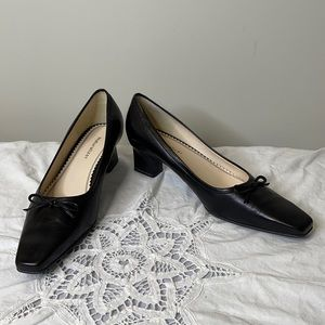 """Naturalizer """"Galley"""" leather squared pointed shoes"""